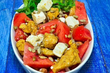 沙拉, 生铁, 蔬菜, 厨房, 吃, 食品, 吃