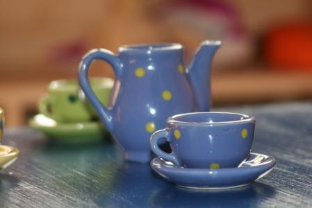 杯, 儿童, 咖啡杯, 饮料, 玩具, 戏剧, 颜色编码