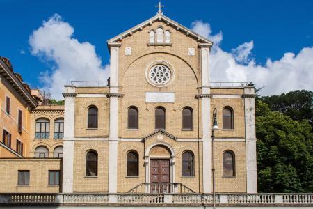 saint-vincent-de-paul, 教会, 大教堂, 文森特-保罗, 罗马, 意大利, 建筑