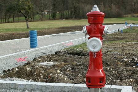 消火栓, 水, 金属, 红色, 消防, 删除, 消防删除