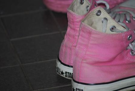 拖鞋, 粉色, 鞋类