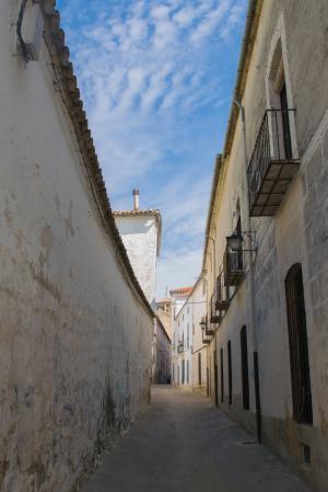 ubeda, 人, 西班牙, 街道