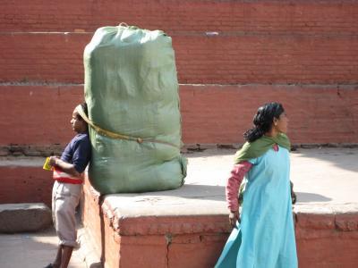 头部支持, 熊, 最后一个, 尼泊尔, 加德满都, 硬, 重量