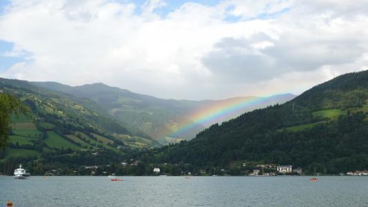 zellamsee, 彩虹, 自然