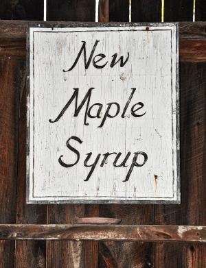 枫糖浆, 枫树, 复古标志, 标志, 乡村, 国家, 佛蒙特州
