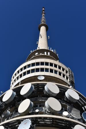 堪培拉, 电信, 蓝蓝的天空, 塔, 资本, 澳大利亚, 天线