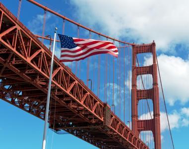 金门大桥, 金门大桥金门门, 三藩市, 加利福尼亚州, 弗里斯科, 桥梁, 悬索桥
