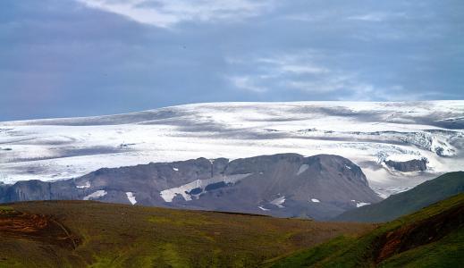 冰岛, 火山, 瀑布, 间歇泉, 火山, 蒸汽, 热