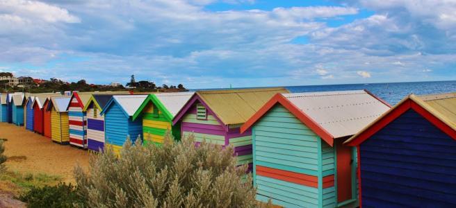 海滩, 房屋, 小屋, 沿海, 土地, 生活, 家园