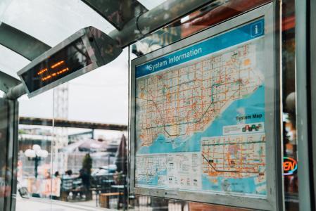 城市交通地图