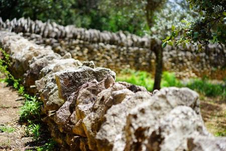 墙, 干石墙, 墙上, 石头墙, 干石砌体, 石头, 堆积