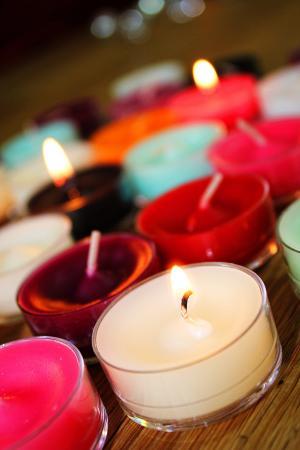蜡烛, 火焰, 多彩, 圣诞节, 消防, 光, 颜色