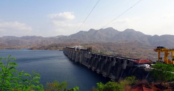 大坝, 萨达尔帕特尔 sarovar 坝, 重力坝, 达河, 达河谷项目, 液压, 工程