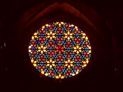 教会的窗口, 多彩, 教会, 玻璃窗口, 玻璃, 窗口, 颜色