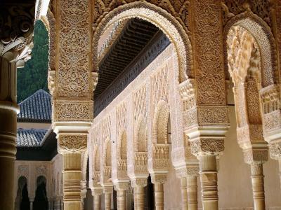阿罕布拉, 格兰纳达, 安大路西亚, 建筑, 阿拉伯语, 拱门, 穆斯林艺术