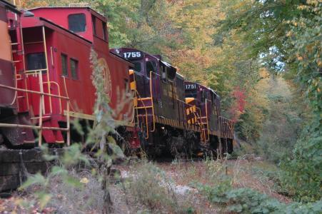 红色的火车, 火车, 跟踪, 运输, 运输, 铁路, 过境