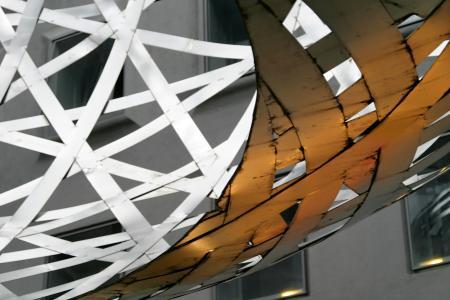 金属, 球, 慕尼黑, 雕塑, 金属艺术, 图稿, 金属球