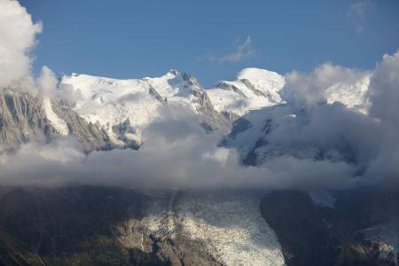 夏蒙尼, 冰川, 景观, 阿尔卑斯山, 山, 冒险, 户外