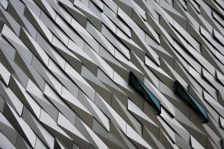 摘要, 建筑, 设计, 低角度拍摄, 模式, 观点, 背景