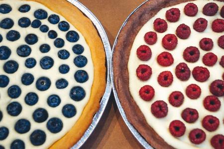 蓝莓, 蛋糕, 甜点, 食品, 水果, 覆盆子, 糖果