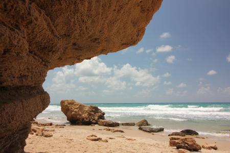 天空, 云彩, 海, 海洋, 海边, 波, 海滩