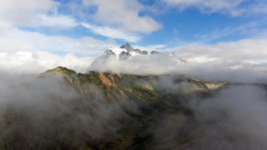 云彩, 雾, 景观, 雾, 山, 自然, 户外