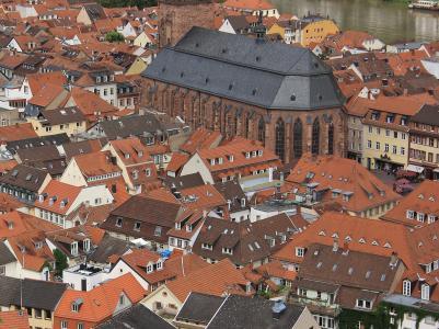 屋顶, 德国, 视图