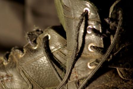鞋子, 老, 戴, 鞋类, 脏, 双, 服装