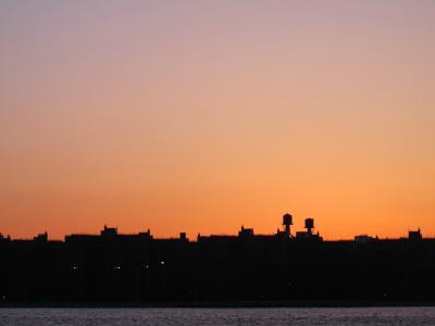 天际线, 日落, 城市, 旅行, 天空, 曼哈顿的天际线, 纽约市天际线