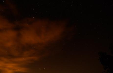 亚利桑那州, 天空, 晚上, 星星, 自然, 云彩