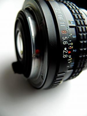 模拟, 相机, 镜头, 单反相机, 老人