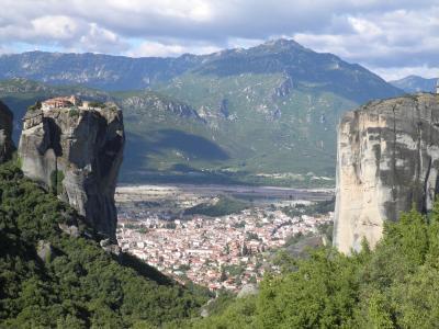 米特奥拉, 希腊, 莫, 修道院, 山