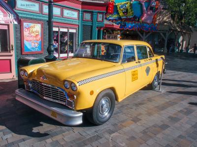 出租车, 汽车, 老, 黄色, 车辆, 运输, 汽车