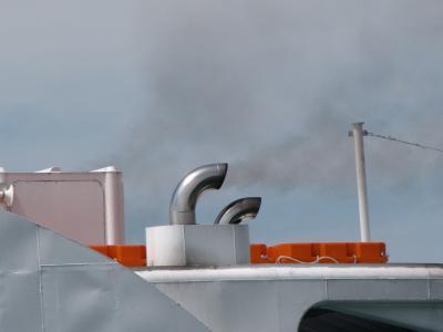 壁炉, 吸烟, 电机, 船舶, 小船, 湖, 海