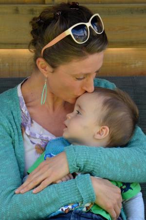 儿童, 母亲, 人, 吻, 爱, 女人, 安全感