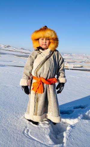 孩子, 冬天, 儿童, 男孩, 雪, 童年, 赛季