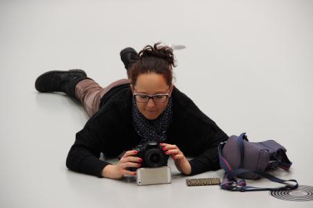摄影师, 设置, 相机, 观点