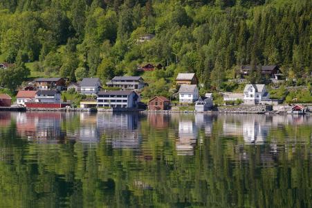 挪威, 假日, 斯堪的那维亚, 旅行, 景观, 水, 水域
