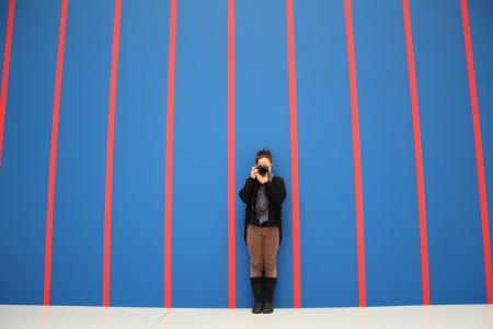 条纹, 壁纸, 摄影师, 蓝色, 红色, 人, 高加索人种