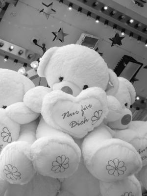熊, 泰迪, 可爱, 甜, 毛绒, 毛绒的动物玩具, 毛绒玩具