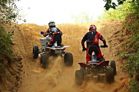 四, 摩托车越野赛, 全地形车, 摩托车, 十字架, 电机, 赛车