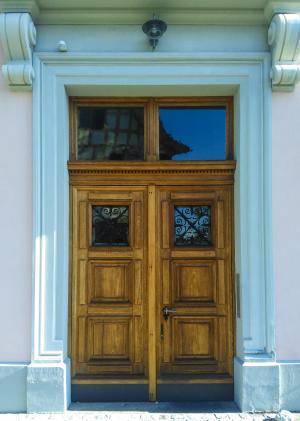 门, 意大利, 入口, 意大利语, 木材, 老, 建筑