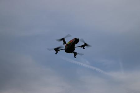 无人驾驶飞机, 无人机飞行, 技术, 空中, 远程, 直升机, 相机