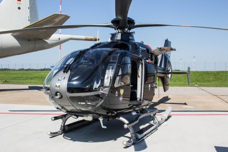 直升机, 机场日, 汉堡, 机场, 景区飞行