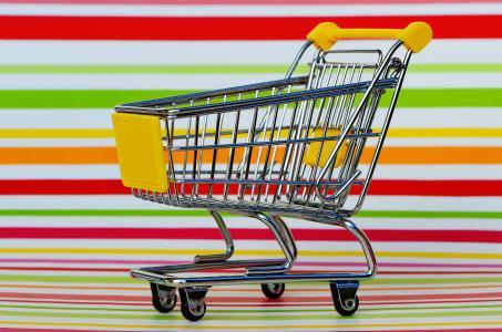 购物车, 购物, 采购, 糖果, 小车, 购物清单, 食品