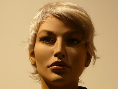 娃娃, 显示假人, 脸上, 肖像, 时尚, 配置文件, 发型