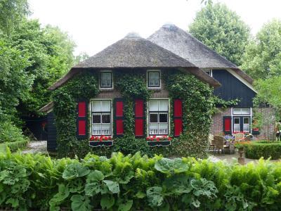 田园草堂, giethoorn, 荷兰, 北方的绿色威尼斯, 房子, 建筑, 木材-材料