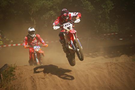 摩托车越野赛, 耐力赛, 十字架, 摩托车, 赛车, 摩托车越野赛骑, 沙子