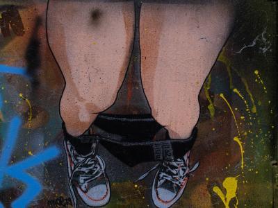 涂鸦, 多彩, 艺术, 颜色, 喷雾, 创造力, 壁画