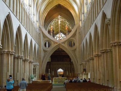 水井, 威尔斯大教堂, 威尔斯大教堂, 哥特式, 英国, 英国, 英格兰